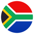 Flag: South Africa on JoyPixels 6.5