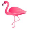 Flamingo on JoyPixels 6.5