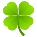 Four Leaf Clover on JoyPixels 6.5