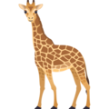 Giraffe on JoyPixels 6.5
