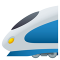 High-Speed Train on JoyPixels 6.5