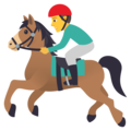 Horse Racing on JoyPixels 6.5