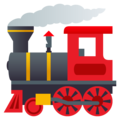 Locomotive on JoyPixels 6.5