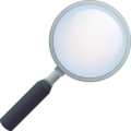 Magnifying Glass Tilted Right on JoyPixels 6.5