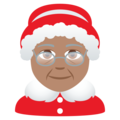 Mrs. Claus: Medium Skin Tone on JoyPixels 6.5