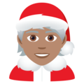 Mx Claus: Medium Skin Tone on JoyPixels 6.5