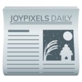 Newspaper on JoyPixels 6.5