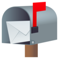 Open Mailbox with Raised Flag on JoyPixels 6.5