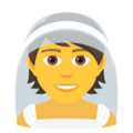 Person With Veil on JoyPixels 6.5