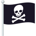 Pirate Flag on JoyPixels 6.5