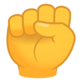 Raised Fist on JoyPixels 6.5