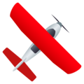 Small Airplane on JoyPixels 6.5
