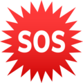 SOS Button on JoyPixels 6.5