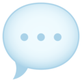 Speech Balloon on JoyPixels 6.5