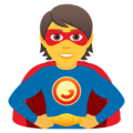 Superhero on JoyPixels 6.5