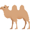 Two-Hump Camel on JoyPixels 6.5