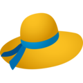 Woman's Hat on JoyPixels 6.5