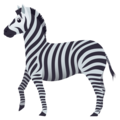 Zebra on JoyPixels 6.5