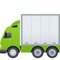 Articulated Lorry on JoyPixels 6.6