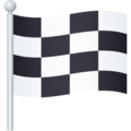 Chequered Flag on JoyPixels 6.6