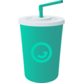 Cup with Straw on JoyPixels 6.6