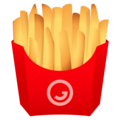 French Fries on JoyPixels 6.6