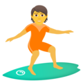 Person Surfing on JoyPixels 6.6