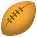 Rugby Football on JoyPixels 6.6