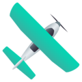 Small Airplane on JoyPixels 6.6