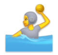 Person Playing Water Polo on LG Velvet