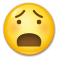 Anguished Face on LG G5