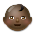 Baby: Dark Skin Tone on LG G5