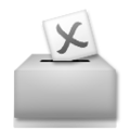 Ballot Box With Ballot on LG G5
