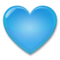 Blue Heart on LG G5