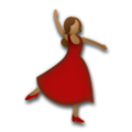 Woman Dancing: Medium Skin Tone on LG G5