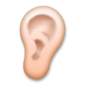 Ear: Medium-Light Skin Tone on LG G5