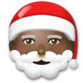 Santa Claus: Dark Skin Tone on LG G5