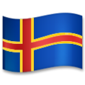 Flag: Åland Islands on LG G5