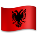 Flag: Albania on LG G5