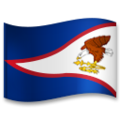 Flag: American Samoa on LG G5
