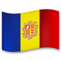 Flag: Andorra on LG G5