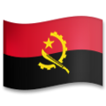 Flag: Angola on LG G5