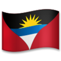 Flag: Antigua & Barbuda on LG G5