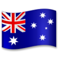 Flag: Australia on LG G5