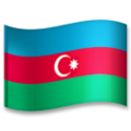 Flag: Azerbaijan on LG G5
