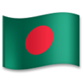 Flag: Bangladesh on LG G5