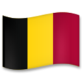Flag: Belgium on LG G5