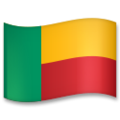 Flag: Benin on LG G5