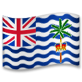 Flag: British Indian Ocean Territory on LG G5