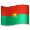 Flag: Burkina Faso on LG G5
